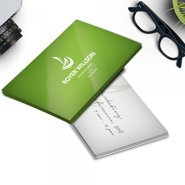 Business Cards 14PT Writable + AQ